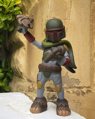 "Star Wars ""Where The Wookiee Things Are PEW-PEW!"" Boba Fett Resin Figure by WheresChappell"