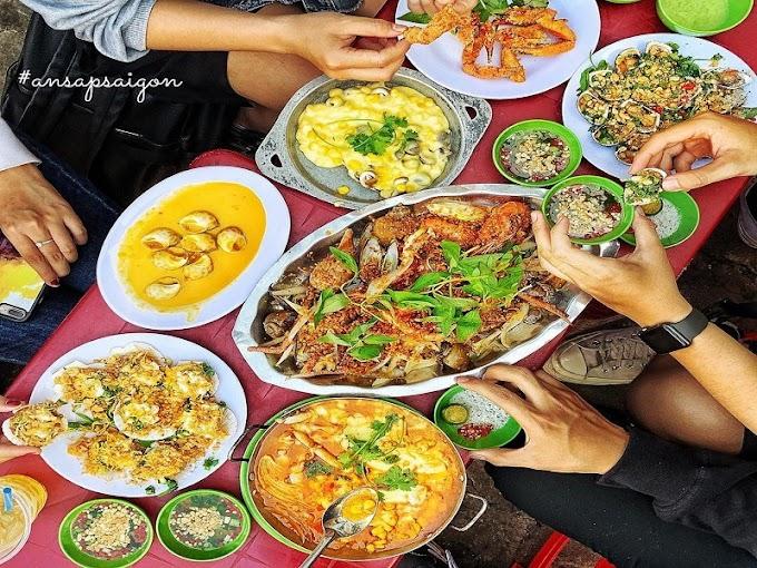 Ở Sài Gòn Ăn Ốc Tại Đây ?