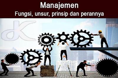 Manajemen – Fungsi, unsur, prinsip dan perannya | Bagian 2