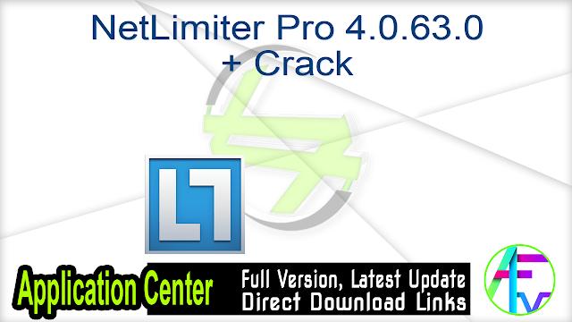 NetLimiter Pro 4.0.63.0 + Crack