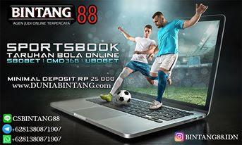 TARUHAN BOLA ONLINE SBOBET | CMD368 | UBOBET BINTANG88