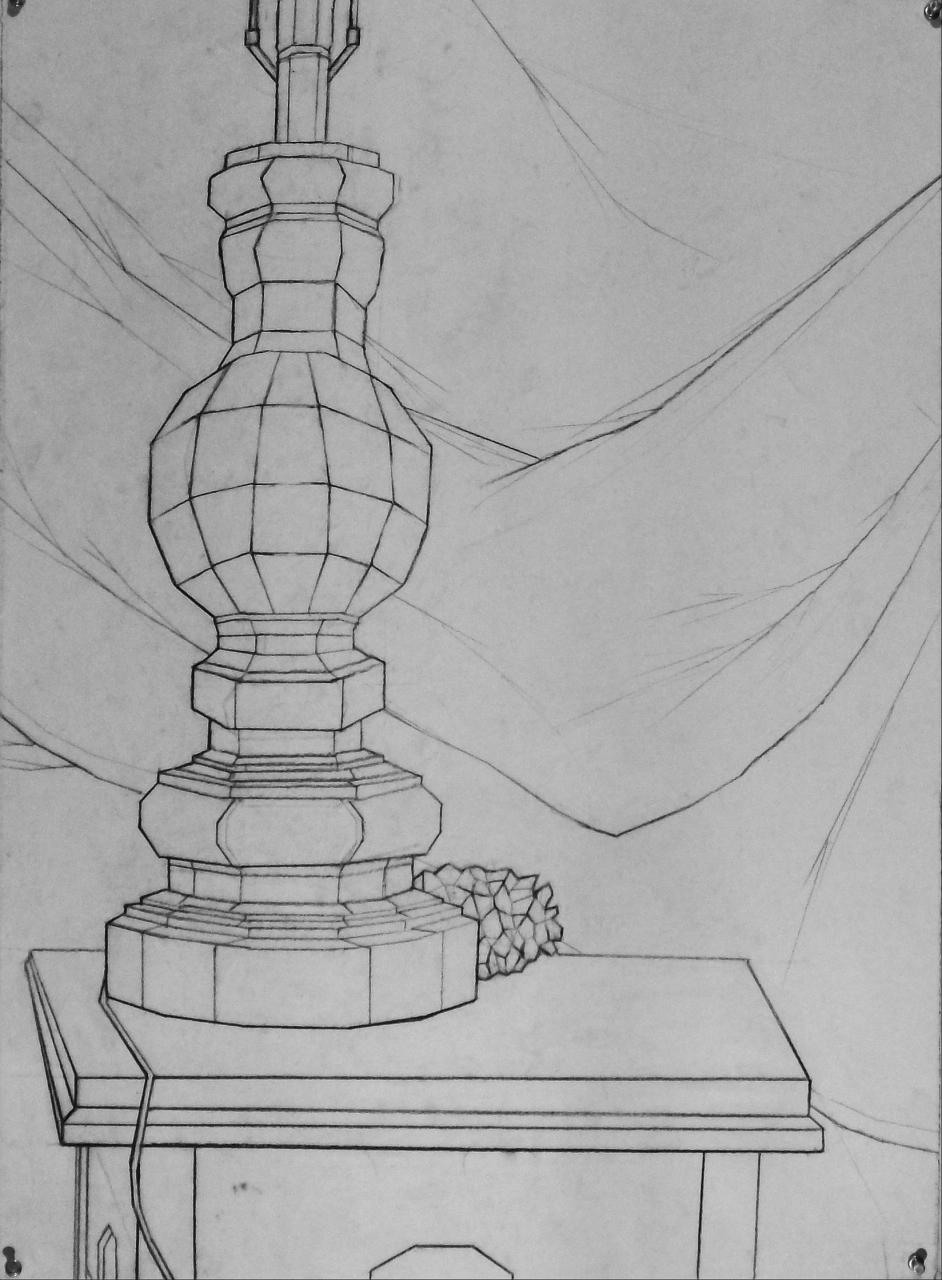 Basic Drawing 1: Planar Still Life Examples