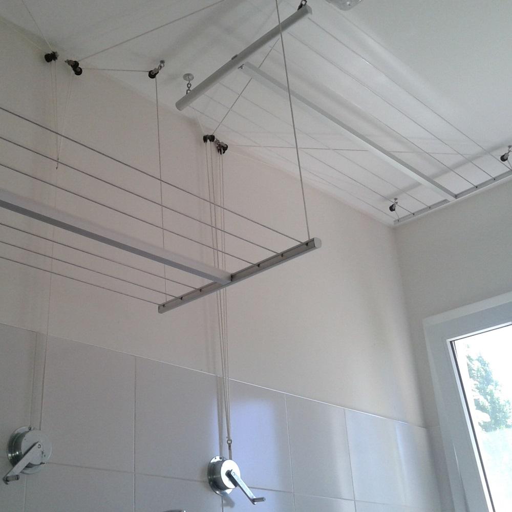 Tendederos colgantes de techo - Tendederos de interior ...
