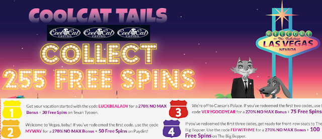Visit Cool Cat Casino for great promos