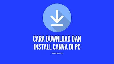 Cara download Canva di pc