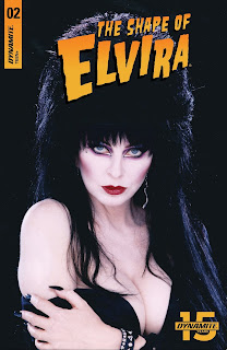 Cover D for The Shape of Elvira #2 from Dynamite Entertainment
