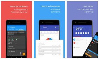 تطبيقات, وطرق, تسجيل, وحساب, ساعات, العمل