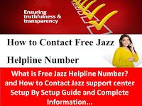 Jazz Helpline, Jazz Helpline Number