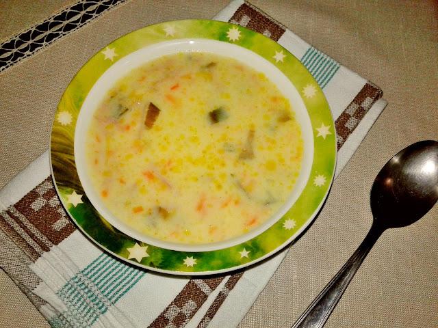 рецепт густого кремового супу