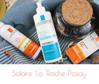 protections solaires Anthelios 50+ et Posthelios La Roche-Posay