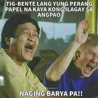 Tagalog Comedy Quotes About Angpao.