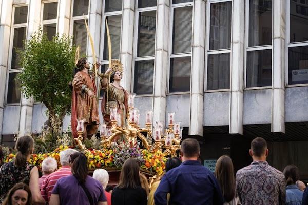 Se suspende la procesión de los patronos de Málaga