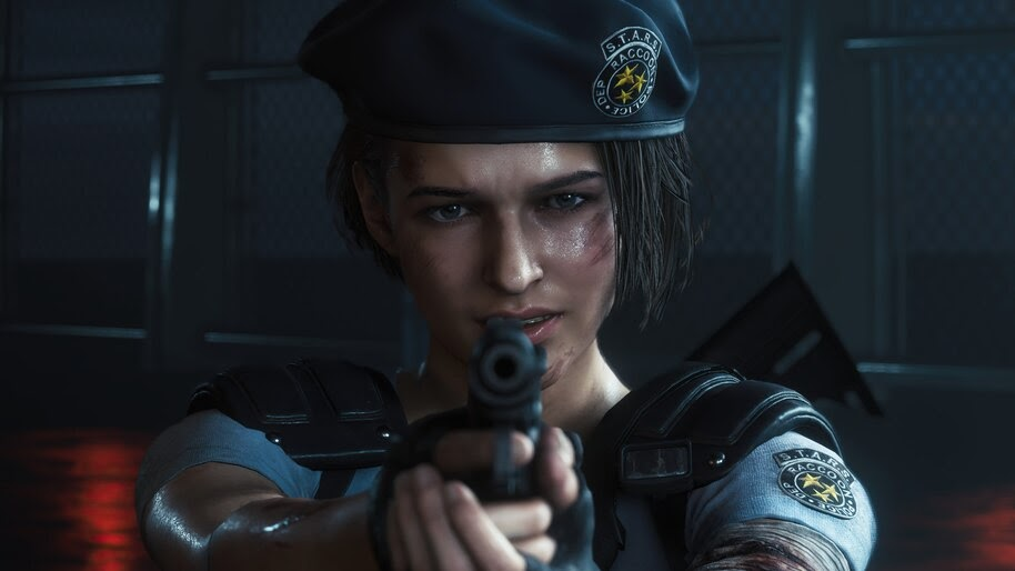 Jill Valentine, Police, Uniform, RE3, Remake, 4K, #7.1695