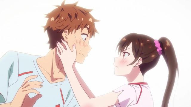 Spoiler Kanojo Okarishimasu Season 2: Chizuru Menyukai Kazuya
