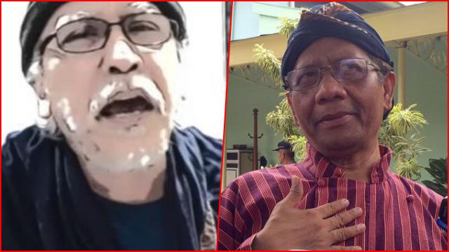 Mahfud Bolehkan Langgar Konstitusi demi Selamatkan Rakyat, Iwan Fals Ingat Jaka Sembung