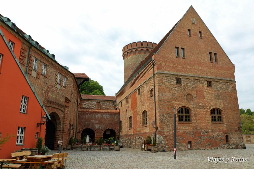 Interior de la ciudadela de Spandau