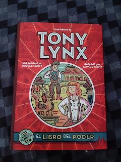 Los diarios de Tony Lynx - El libro del poder