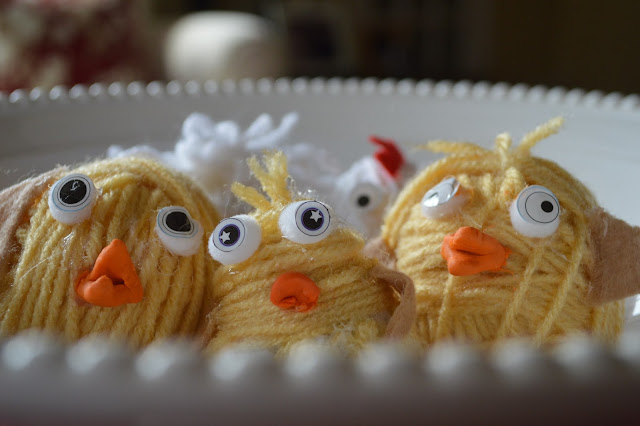How To Make Yarn Chickens