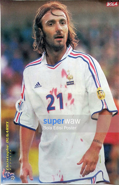 Poster Christophe Dugarry (Prancis)