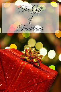 The Gift of Christmas Traditions on Homeschool Coffee Break @ kympossibleblog.blogspot.com