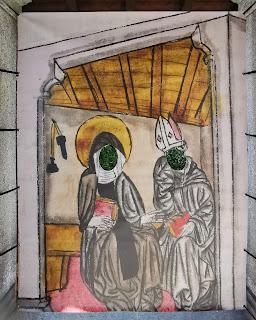 Wiborada oder dem Abt sein Gesicht leihen