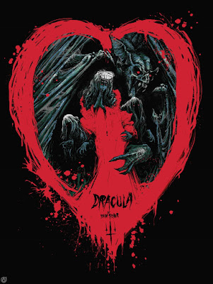 Dracula Screen Print by Godmachine x Mad Duck Posters