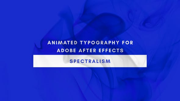 Spectralism – Animated Titles[Videohive][After Effects][22552852]