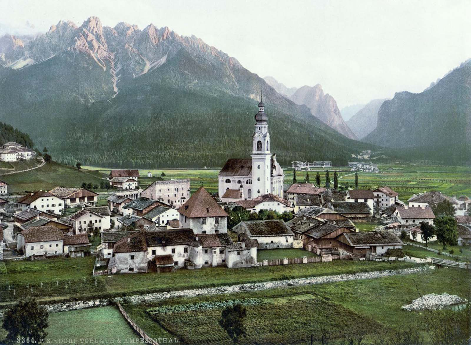 Toblach and Val Ampezzo.