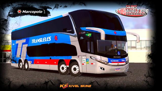 PARADISO G7 1800 DD 8X2 - VIAÇÃO TRANSLELES TRANSPORTE E TURISMO