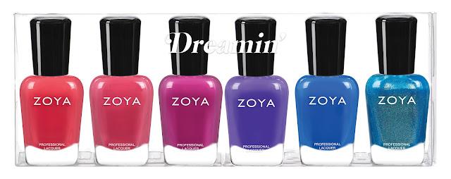 Zoya Dreamin' Summer 2021 Collection