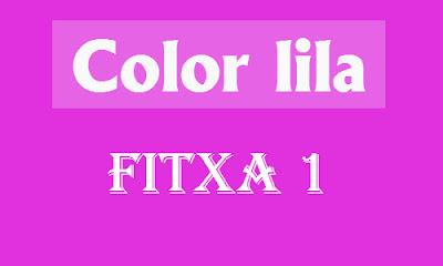 Color Lila (fitxa 1)