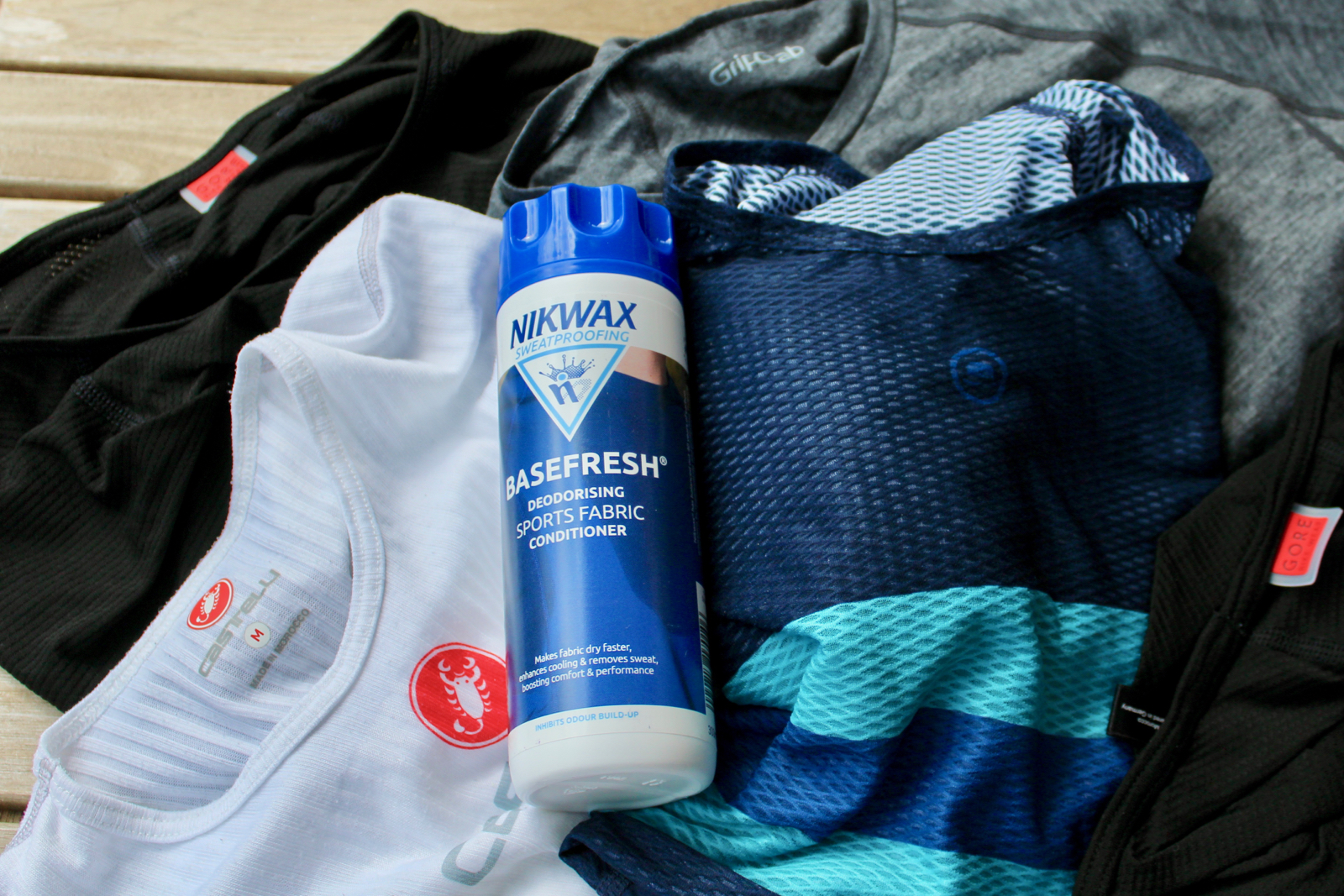 How to wash cycling base layers
