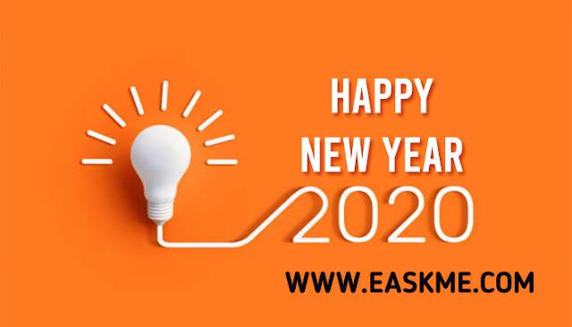 Happy New Year 2020 : eAskme