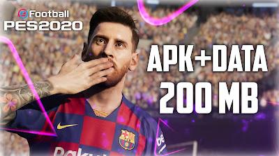 Pro evolution soccer 2020 Android game mod APK + data highly compressed