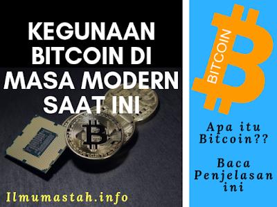 Kegunaan Bitcoin di Masa Modern