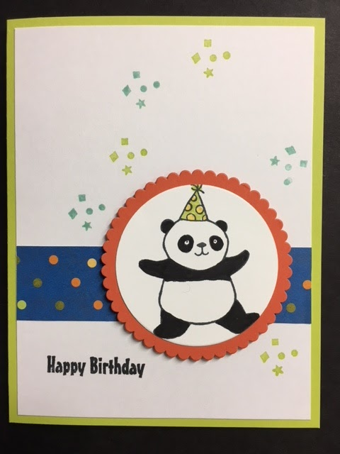 I Am Getting Quite A Collection Of Childrens Birthday Cards Now Thanks To This Party Pandas Sale Bration Set Im Going Be Sad See It Go At The