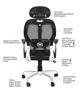 Ergonomic Work from Home Office Chair