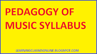 b.ed syllabus