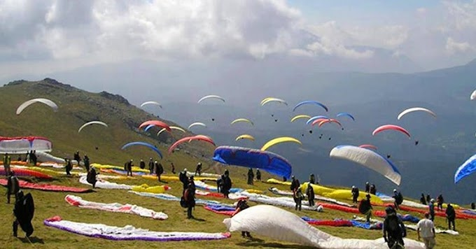 Bir billing, paragliding capital of India
