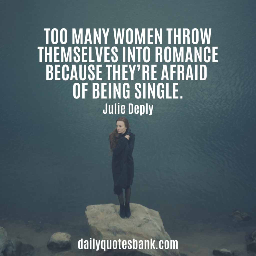 Funny Quotes About Single Life Happy