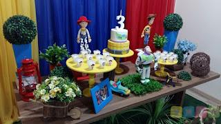 Decoração festa infantil Toy Story Porto Alegre