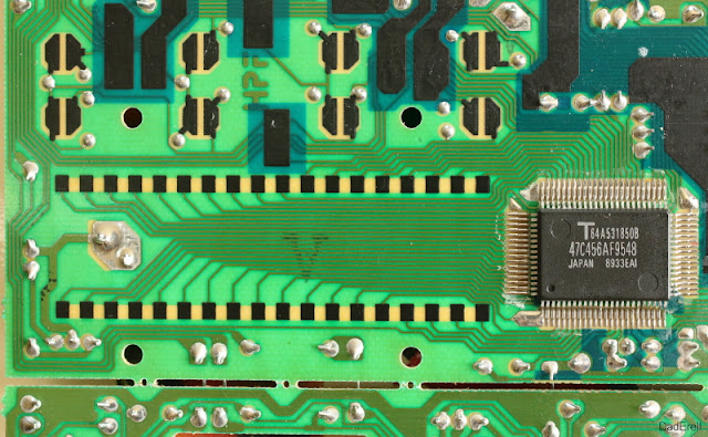 Circuit imprimé de poste téléphonique Ténor
