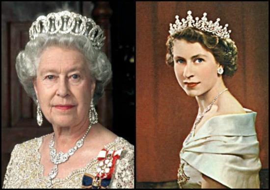 Preto Branco E S M Rainha Elizabeth Ii Parte I