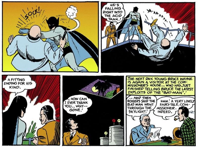 Detective Comics 27 Batman prima apparizione