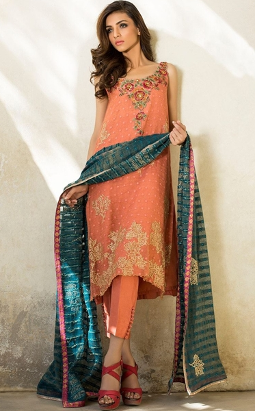 Pakistani Heavy Formal Dresses for Parties