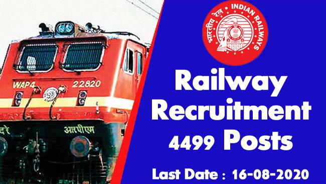 Job in assam, Railway job