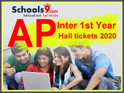 AP Inter 1st Year Hall tickets 2020