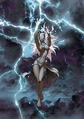 Tormenta es una de las mutantes más poderosas de Marvel Comics