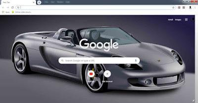 Mengganti wallpeper google chrome di komputer atau laptop