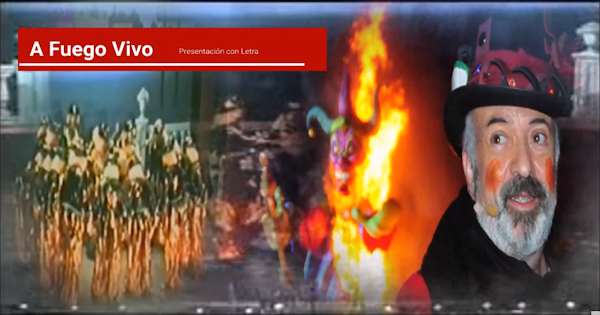 💥Presentación con Letra Comparsa 🔥A Fuego Vivo🔥